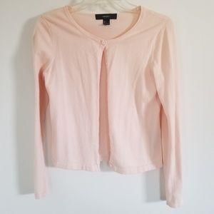 Blush Pastel Pink Cardigan